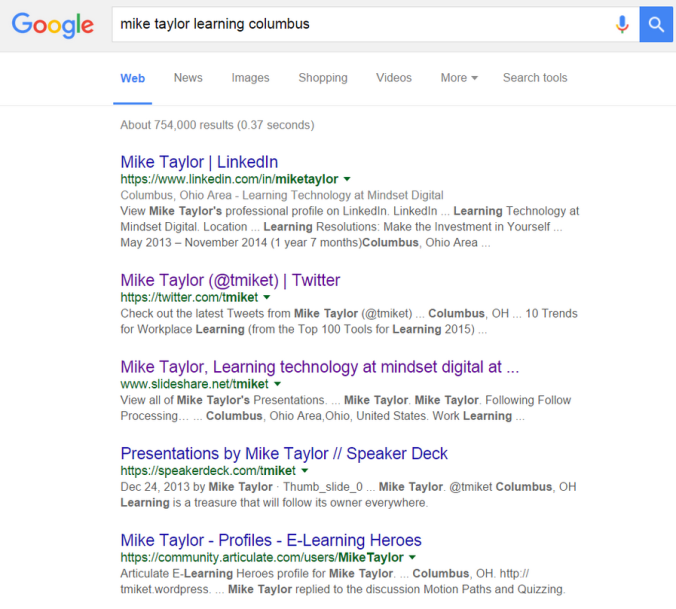 Mike Taylor Google